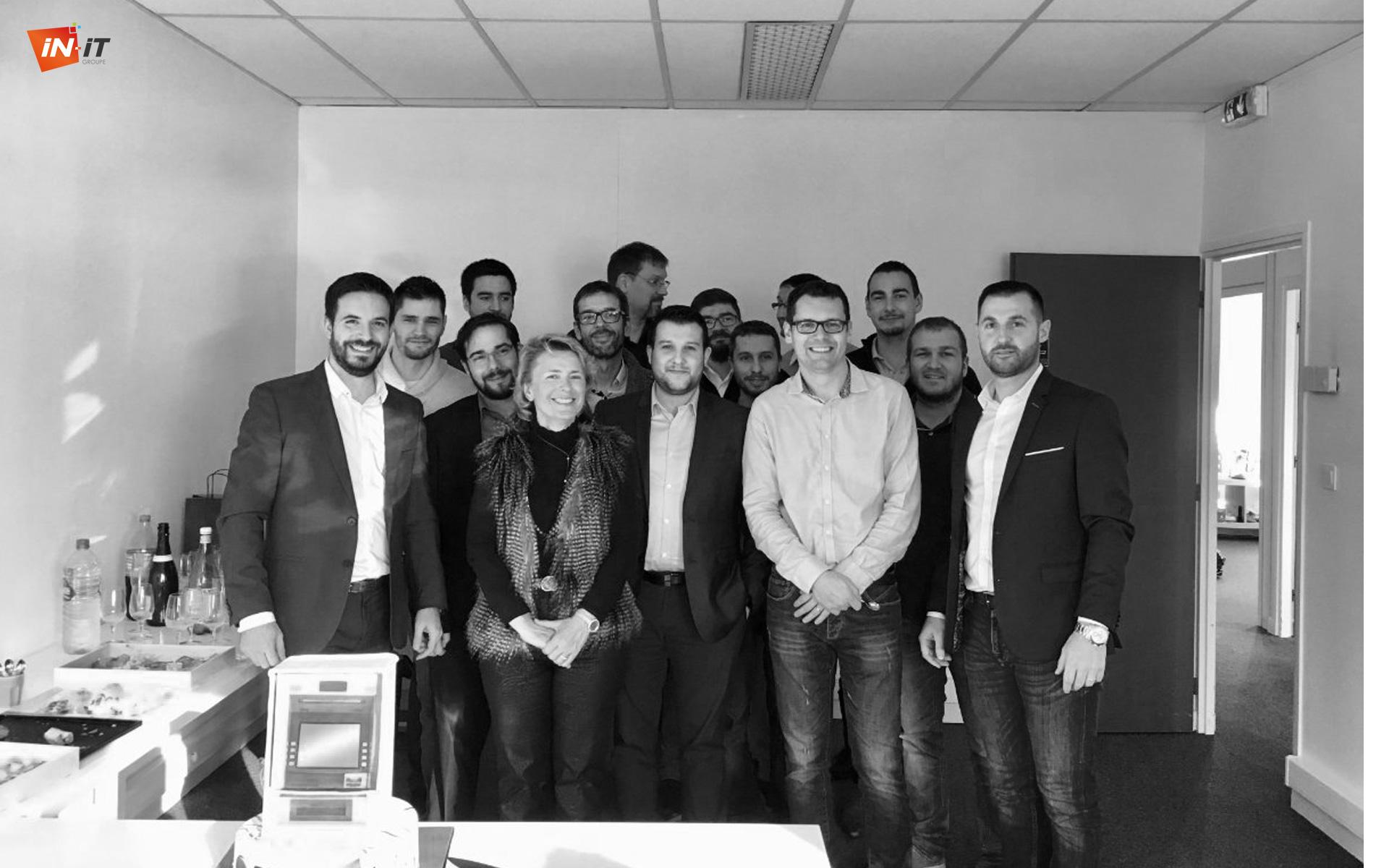 L'équipe IN-IT félicitée par la Directrice de l'Organisation et de l'Informatique de BPCE-IT