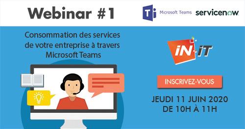 Webinar - Les services de votre entreprise à travers Microsoft Teams
